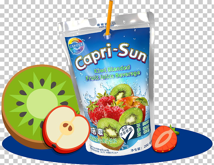 Capri Sun Vegetarian cuisine Drink Food, Capri Sun PNG.