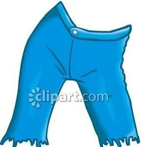 Capri Shorts Clip Art.