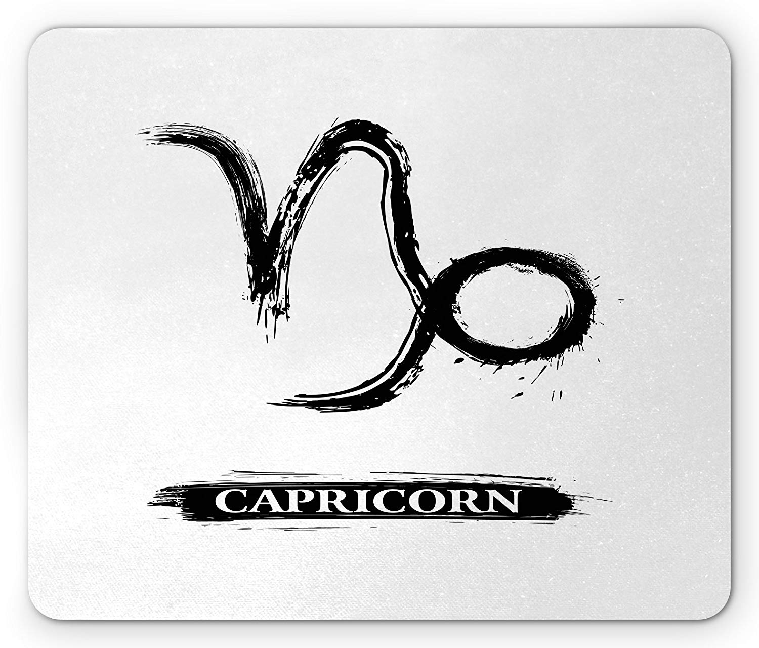 Amazon.com: Ambesonne Zodiac Capricorn Mouse Pad, Ink.