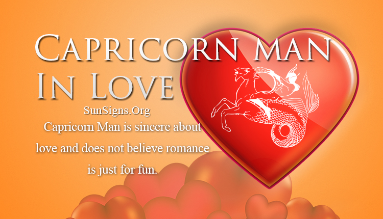 Capricorn Man In Love Personality Traits.