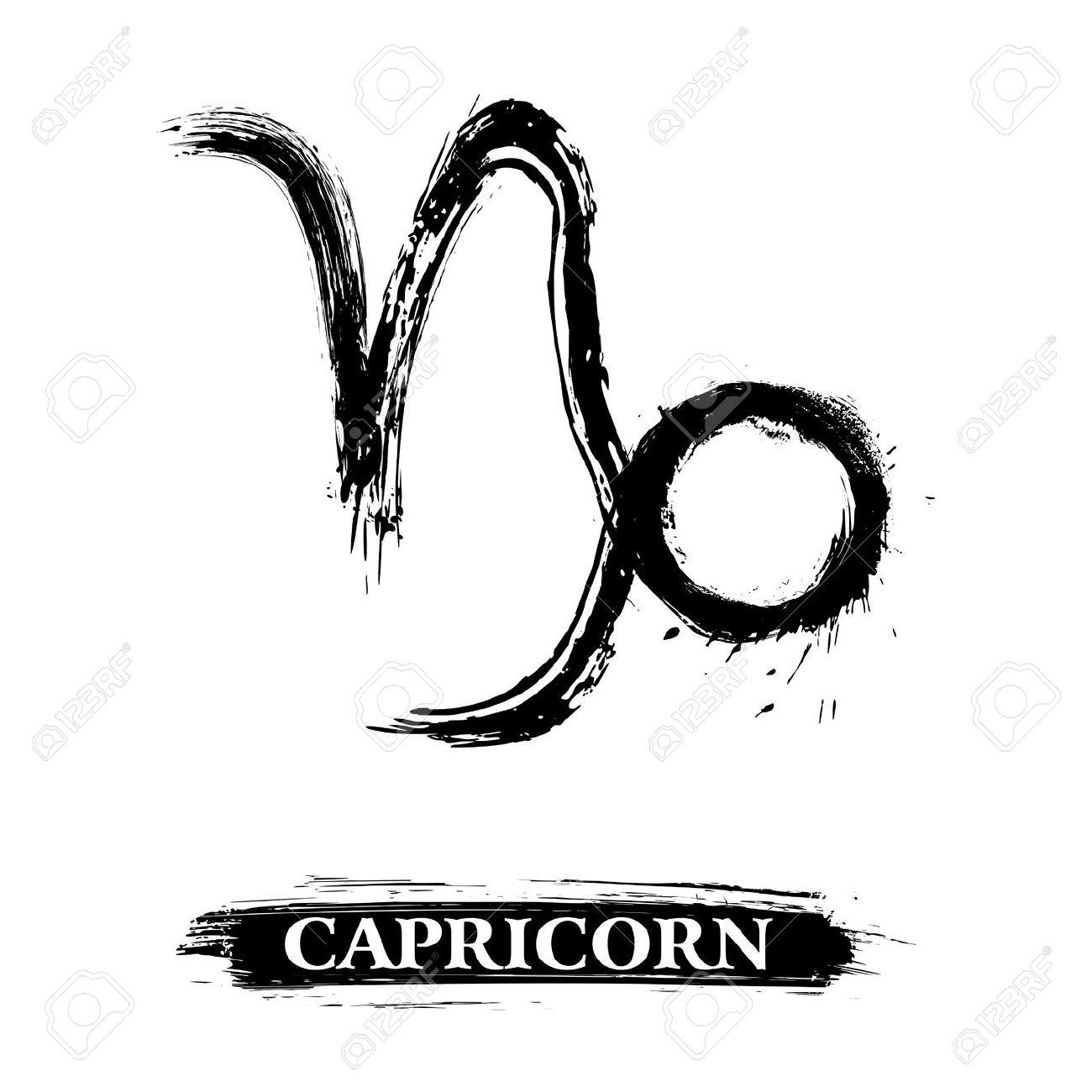Capricorn Symbol Royalty Free Cliparts, Vectors, And Stock.