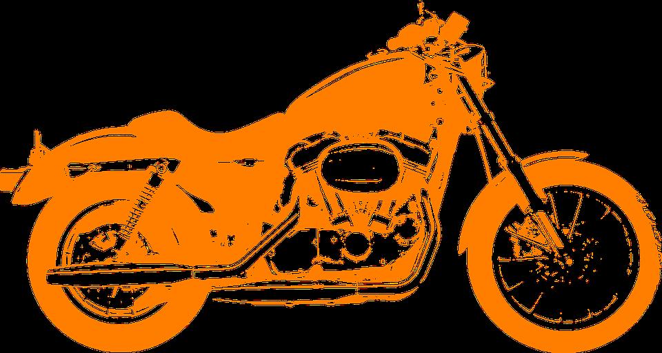Free vector graphic: Motorcycle, Bike, Fast, Orange.