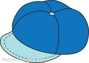 image Illustration of a Blue Newsboy Cap.