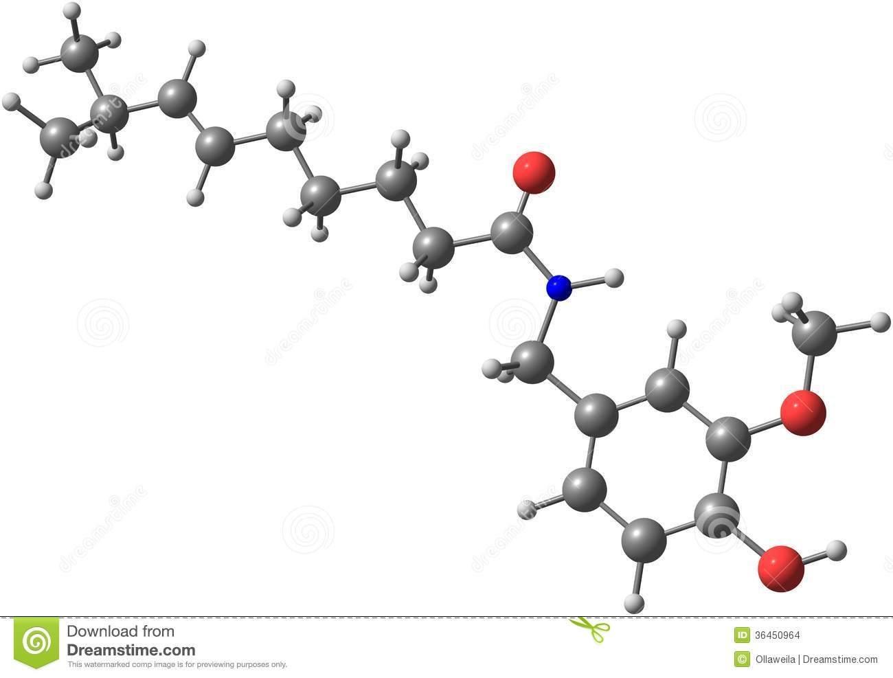 Capsaicin Royalty Free Stock Images.