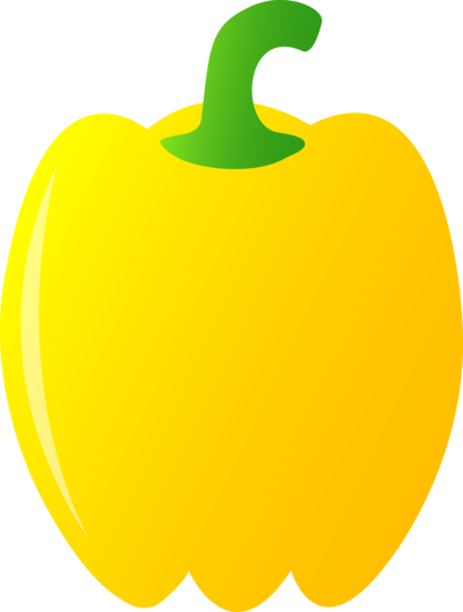 Yellow Bell Pepper.