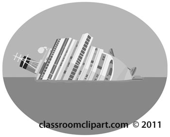 Transportation Gray and White Clipart: illustration.