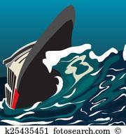 Capsizing Clip Art and Stock Illustrations. 13 capsizing EPS.