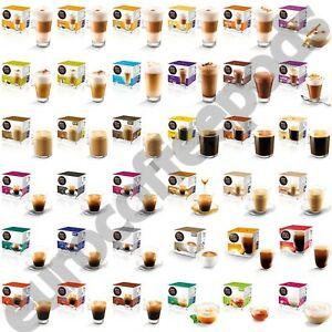 Detalles de Nescafe Dolce Gusto Cápsulas de café, 39 sabores para elegir,  paquete de 1,2,3,4,5,6.