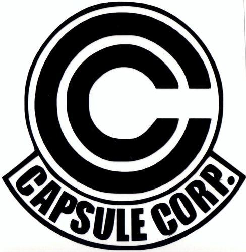 Capsule corp Logos.