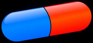Pill clipart vector.