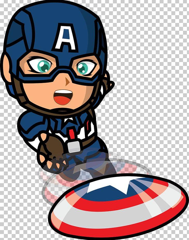 Captain America Illustration Cliffjumper Cartoon PNG.
