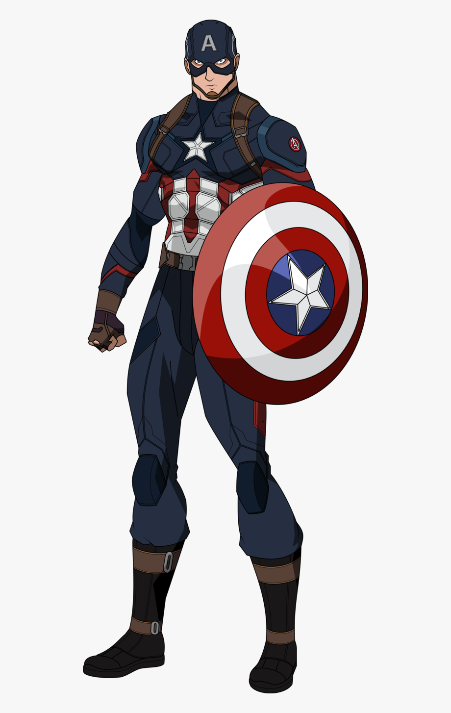 Download Superhero Clipart Captain America And.