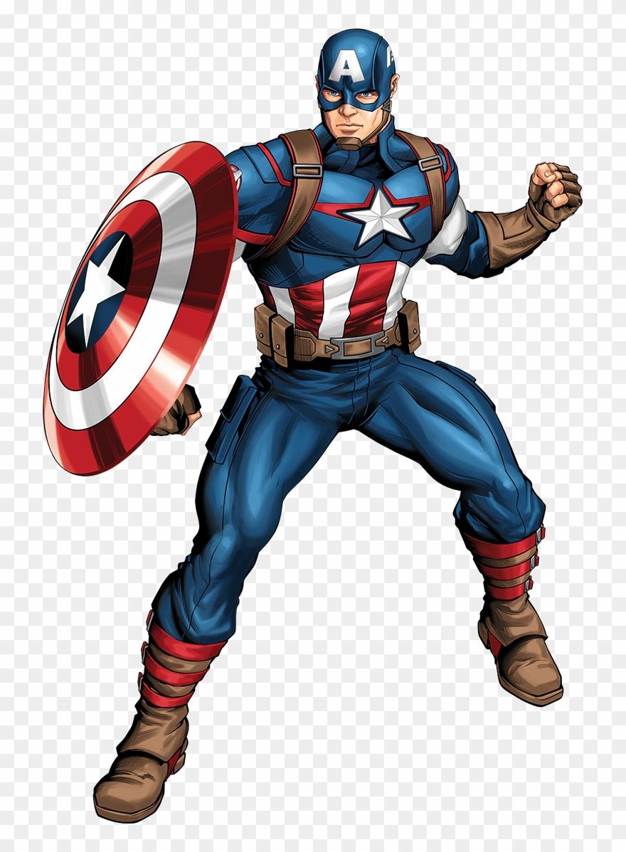 Captain America Image Clipart (#1997983).