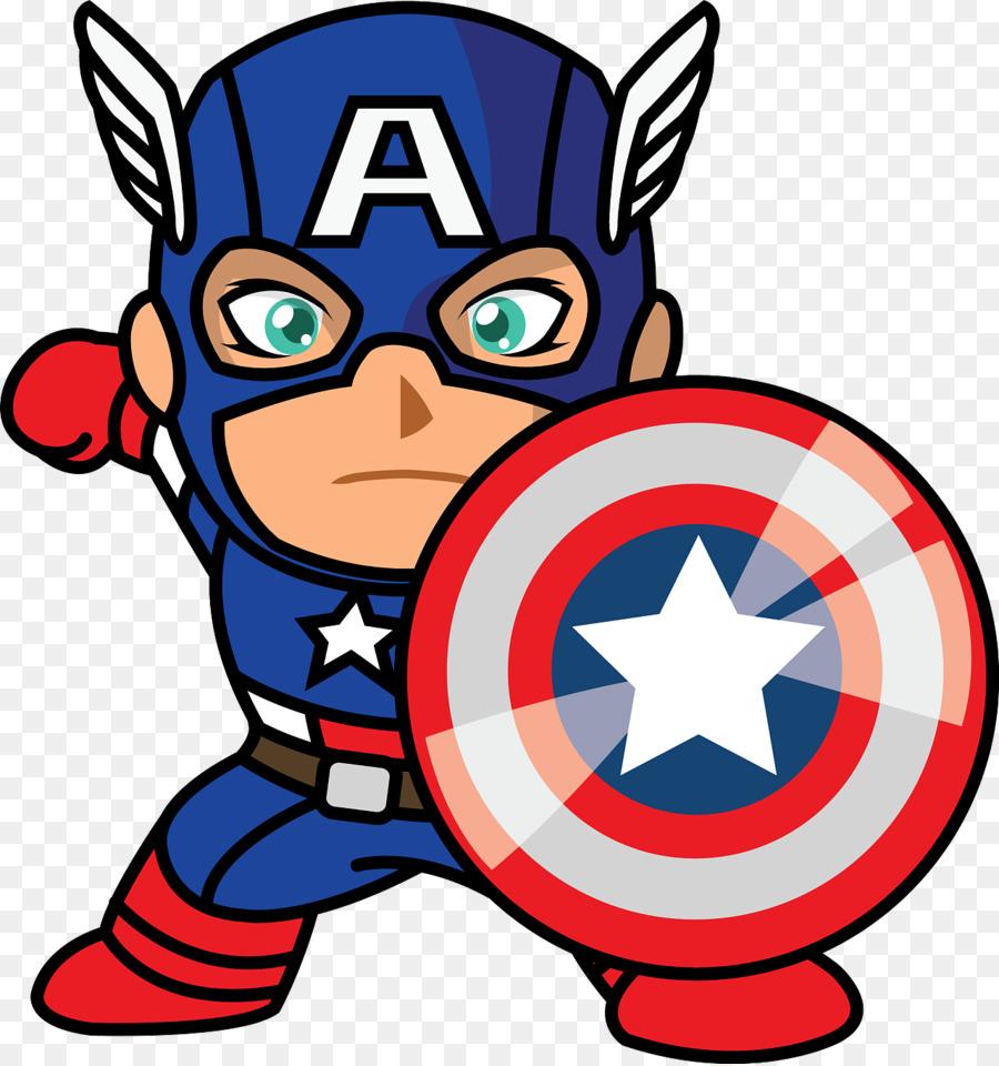 Captain America Cartoon & Free Captain America Cartoon.png.