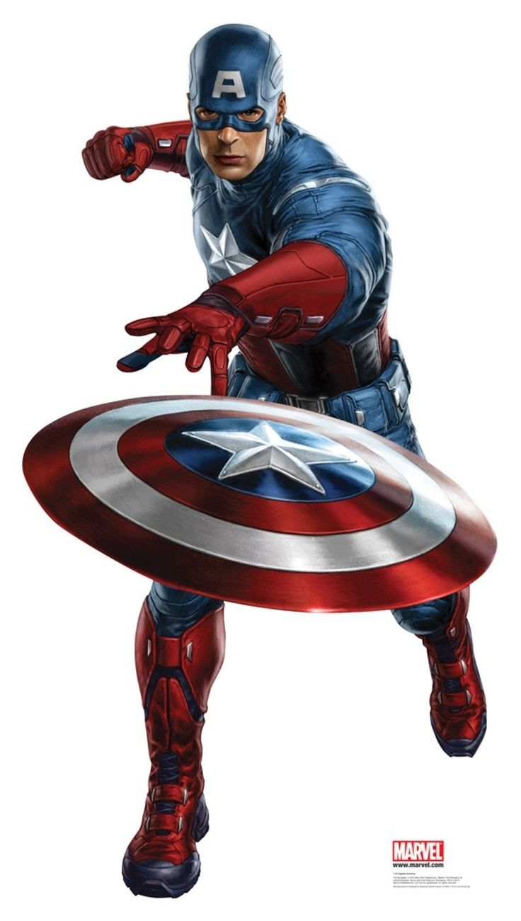 Live clipart captain america.