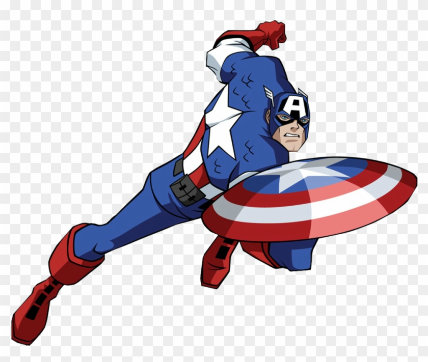 Captain America Clipart Marvel Avengers Alliance.