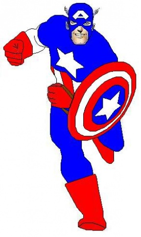 Captain America Clipart.