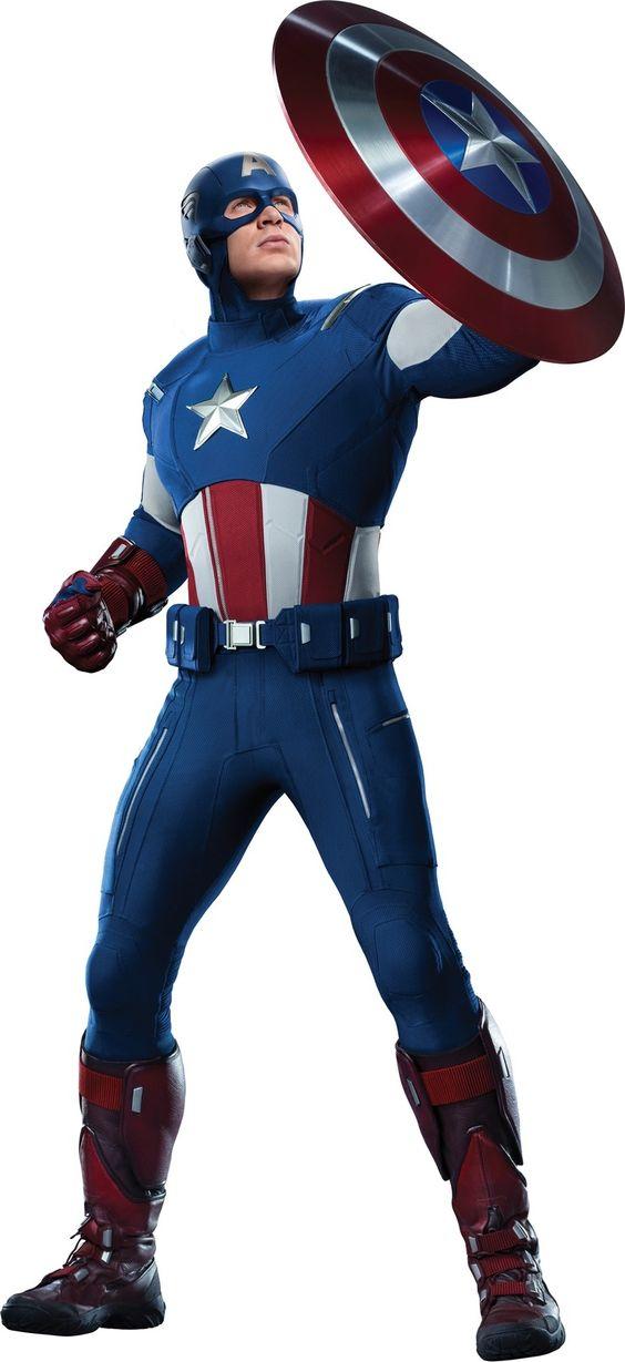Captain #America #Clip #Art. (Chris Evans Captain America Blue.