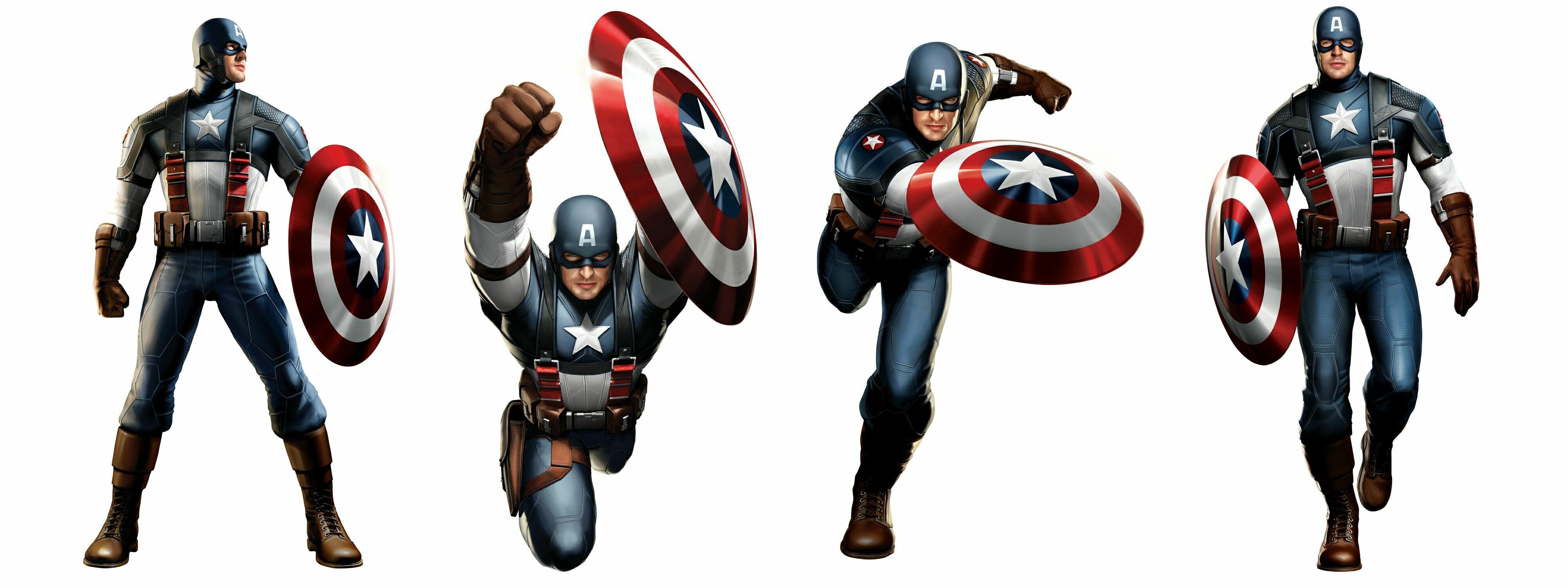 Captain America Clip.