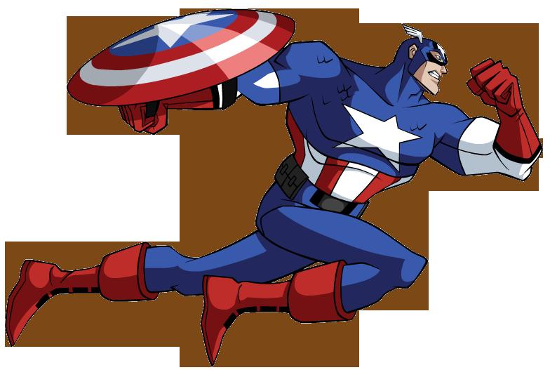 Captain America Clipart.