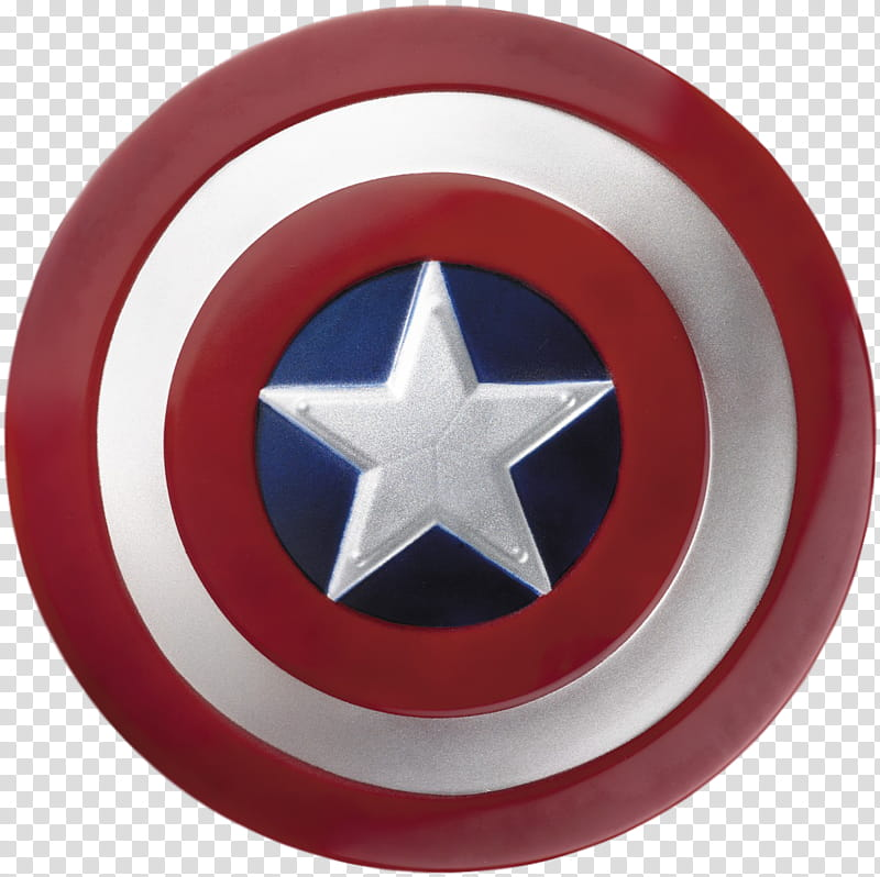 Captain America Shield transparent background PNG clipart.