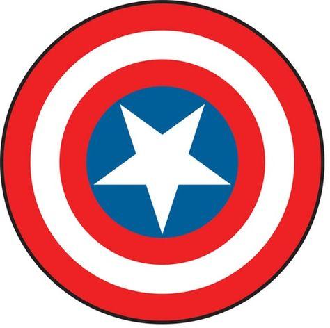 Captain America Symbol Clipart.
