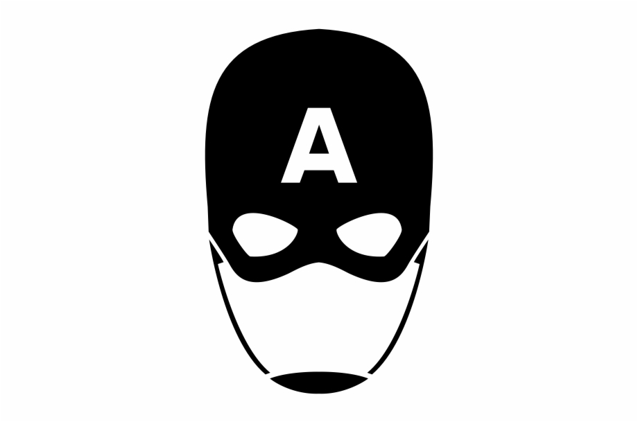 Captain America Mask Png.