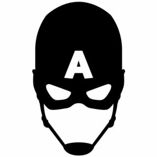 Mask Clipart Captain America.