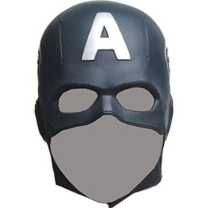 Ogawa Studio Captain America The Avengers Mask Rubber Party Mask Full face  Head Costume (Japan Import).