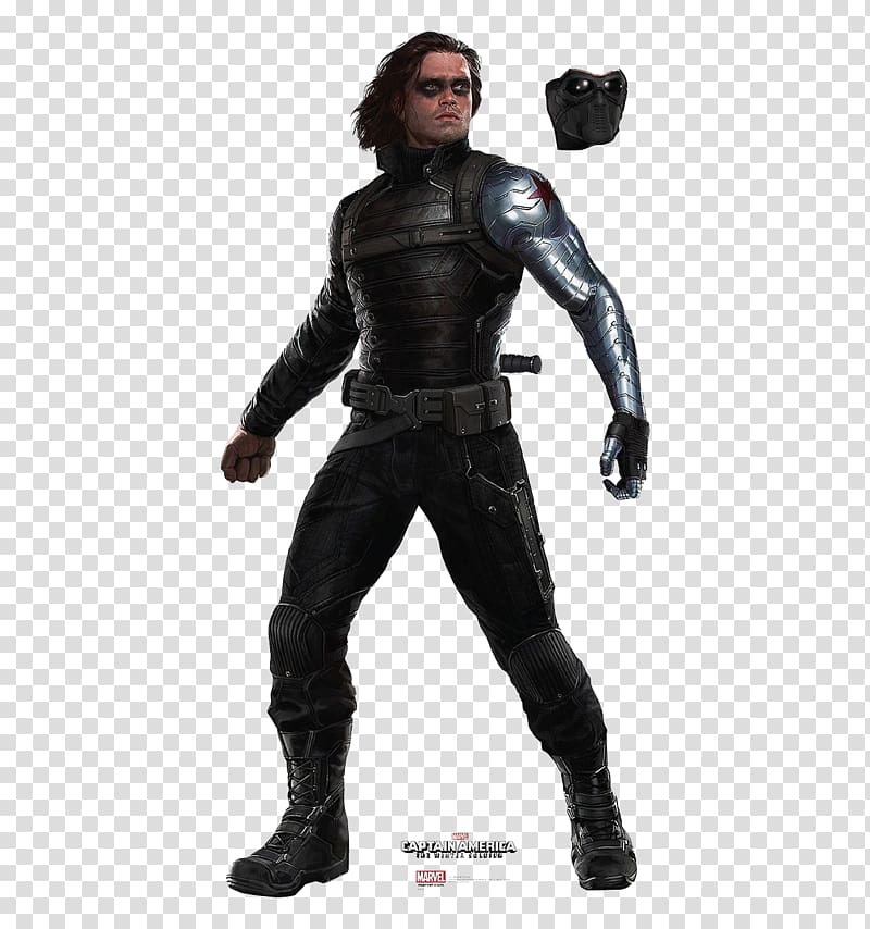 The Winter Soldier illustration, Captain America Bucky.
