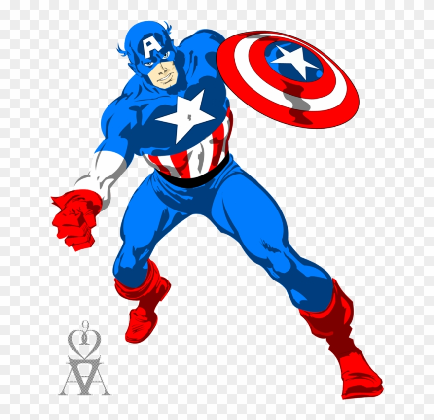 Captain America Vector Png.