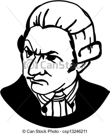 Clipart of Captain James Cook.