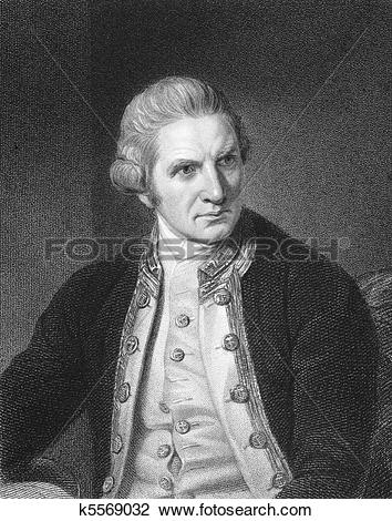 Stock Photo of Captain Cook k5569032.