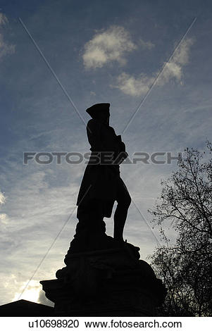 Stock Photography of England, London, Westminster, Silhouette of.