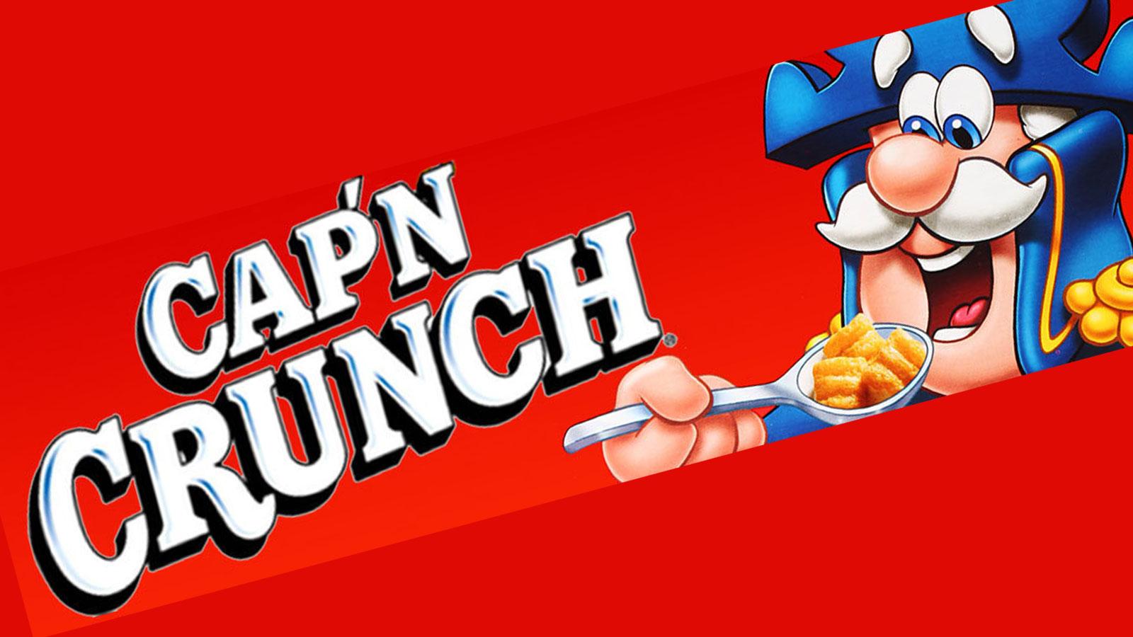 Mascot Design Evolution: Cap\'n Crunch.