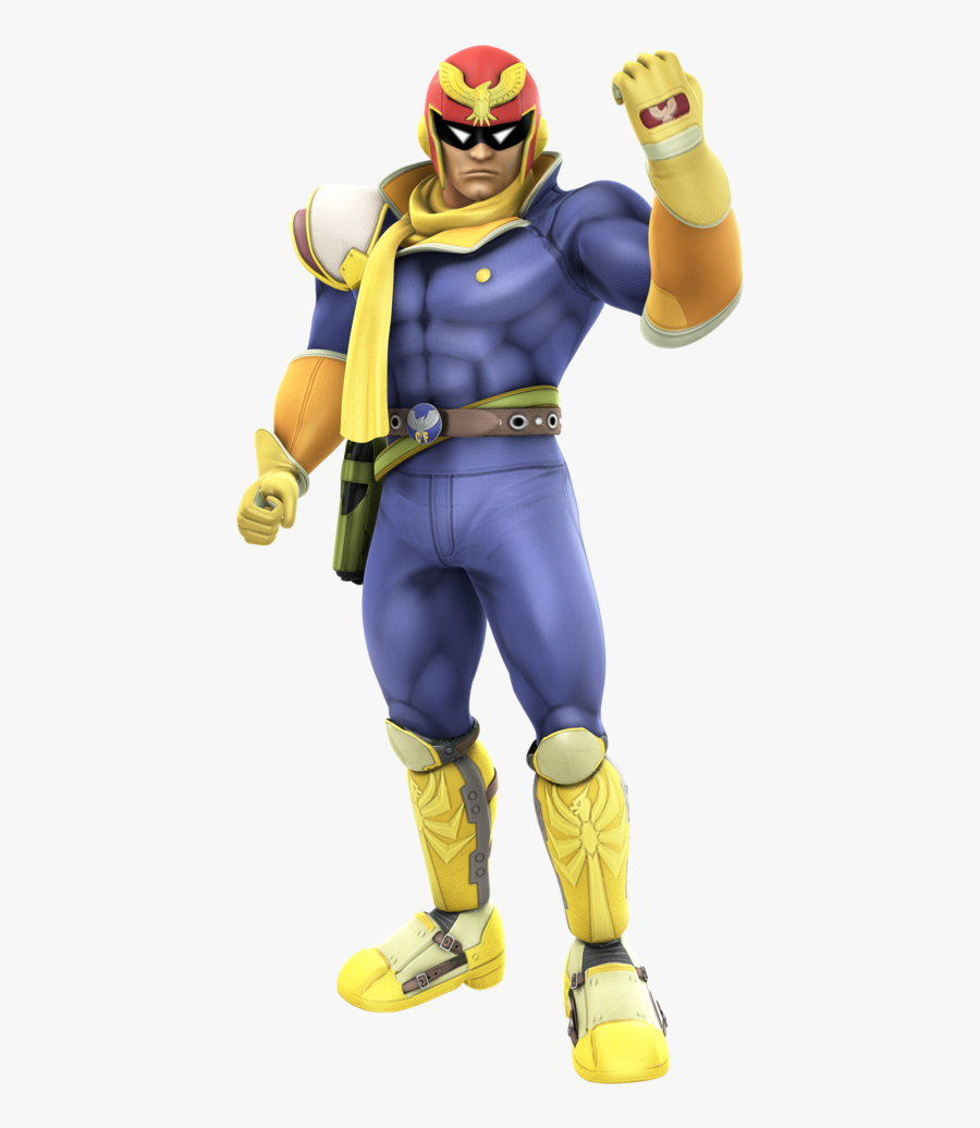 Captain Falcon Smash 4 Png Clip Art Black And White.
