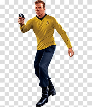 James T. Kirk PNG clipart images free download.
