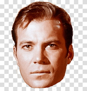 Captain Kirk PNG clipart images free download.