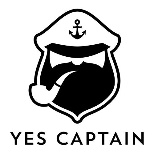 Yes Captain logo.