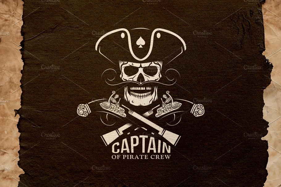 Pirate Captain Logo.