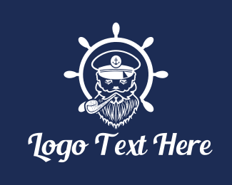 Sea Captain Logo.