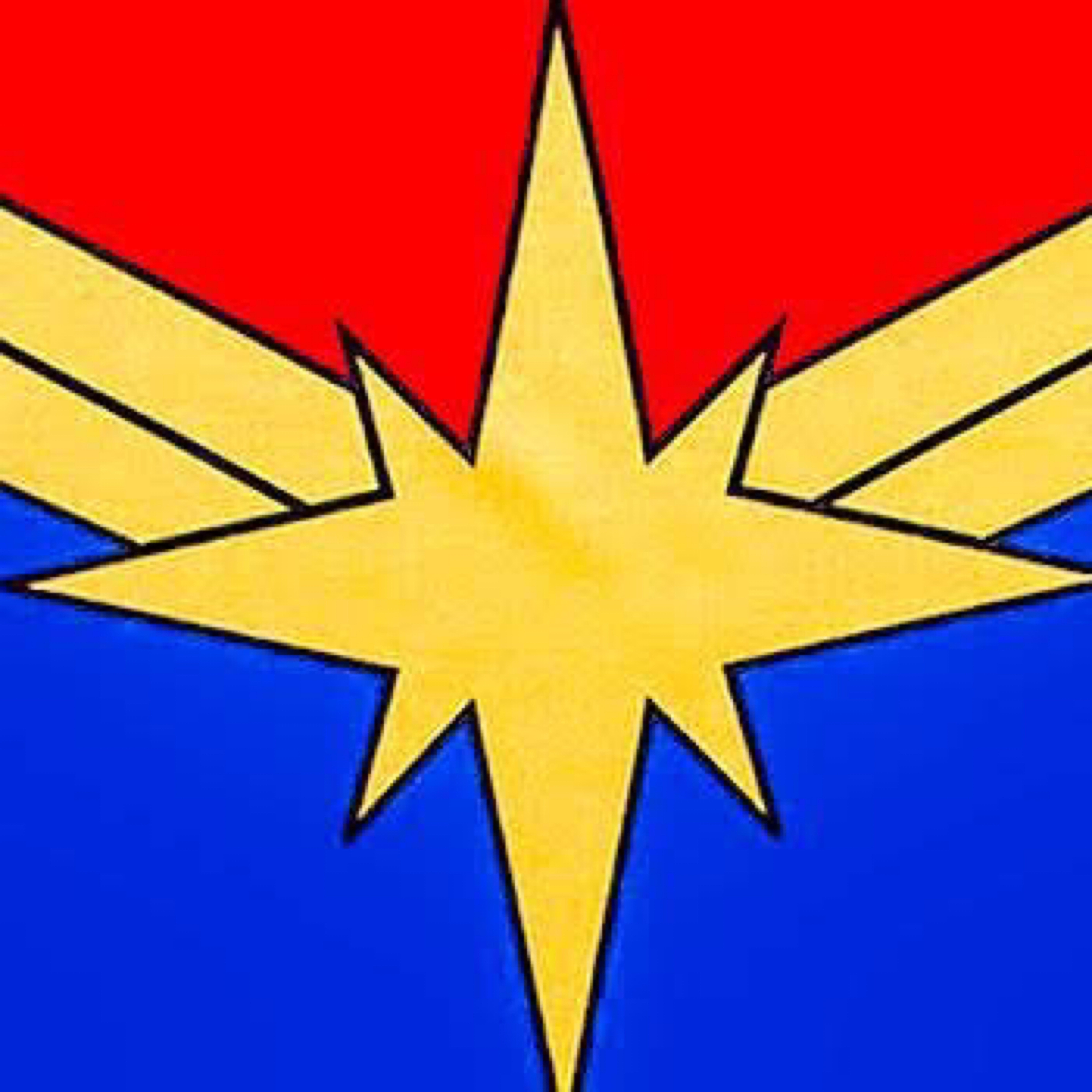 An older style version of the Captain Marvel logo.