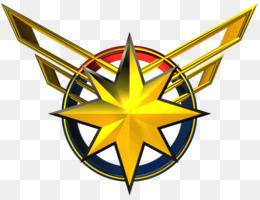 Captain Marvel Logo PNG.