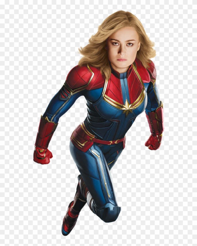 Captain Marvel Png, Transparent Png.