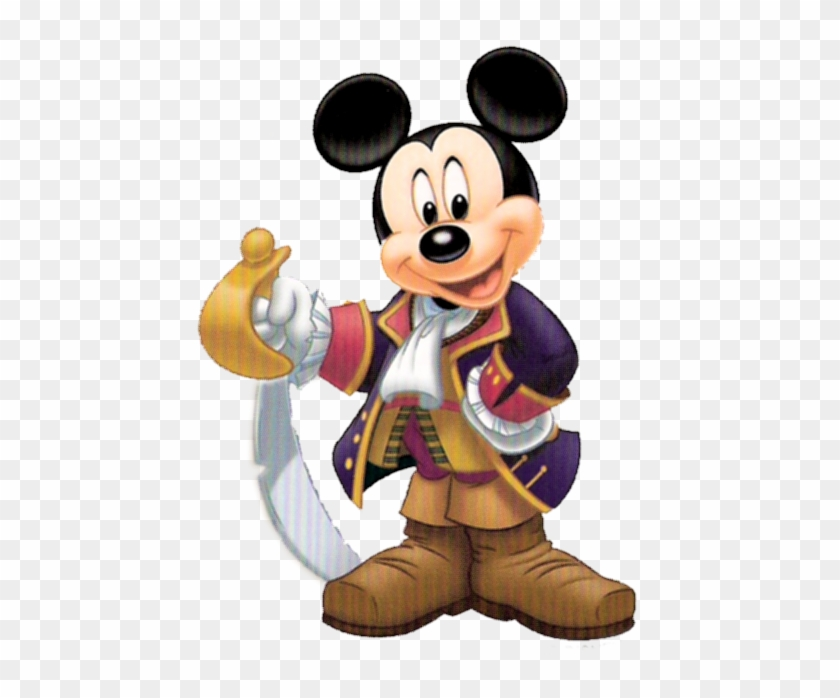 Mickey Mouse Clipart Captain.