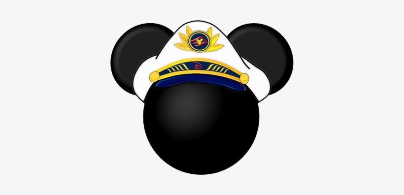 Captain Mickey Mouse Head Clipart.
