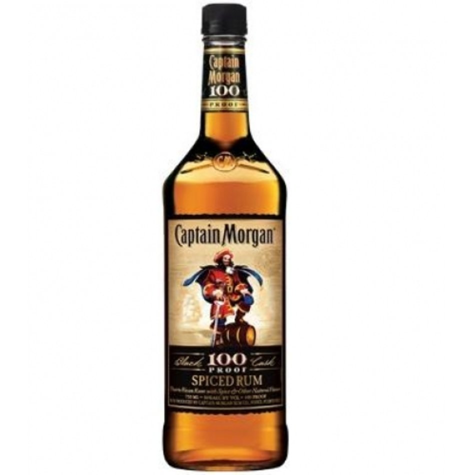 Captain Morgan Black Cask 100 Proof Spiced Rum Ultimate.