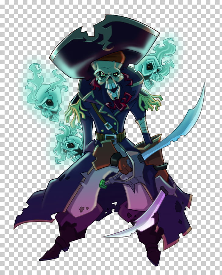 Piracy Captain Morgan Treasure War, personality skull PNG.