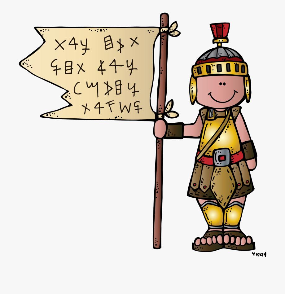 Melonheadz Lds Illustrating Captain Moroni And The.