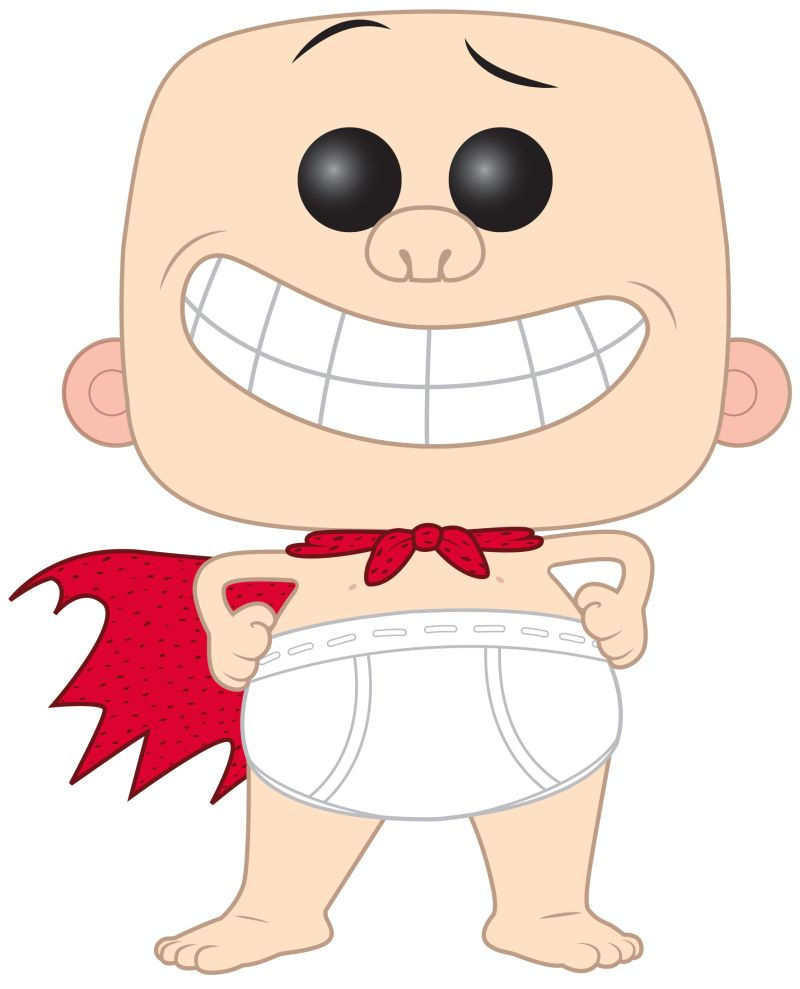 The Adventures of Captain Underpants Funko POPs! Coming 2017!.